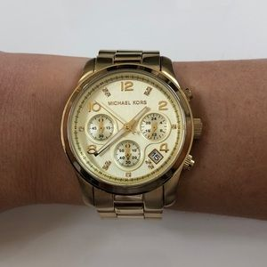 Michael Kors MK-5683B Special Edition Gold Watch